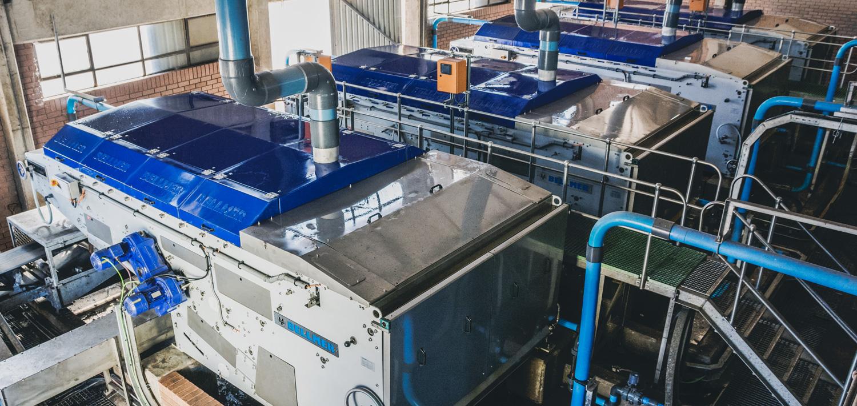 Bellmer Separation Technology WinkelPresse