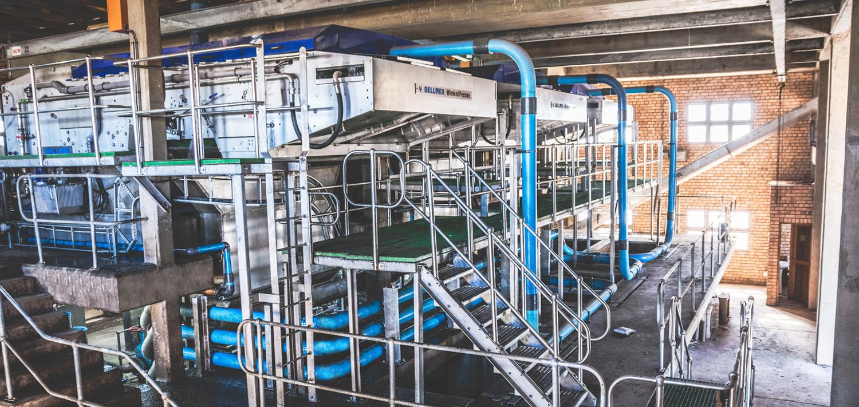 Bellmer Separation Technology Belt Press Winklepress