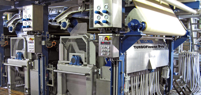 Bellmer Paper Technology Rundsiebstoffauflauf TurboFlower