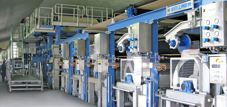 Bellmer Paper Technology Cylinder Former Headbox TurboFlower