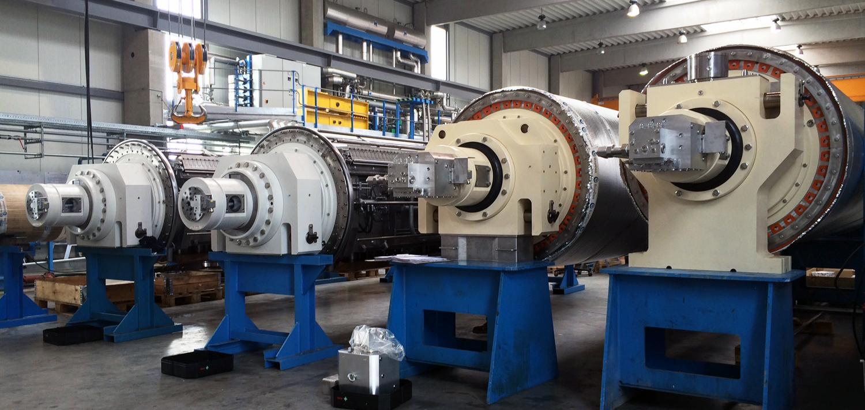 Bellmer GapCon Manufacturing Rolls