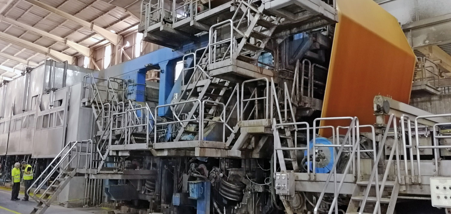 Paper machine rebuild: rebuildof the Press- and Dryer section in Hidalgo, Mexico
