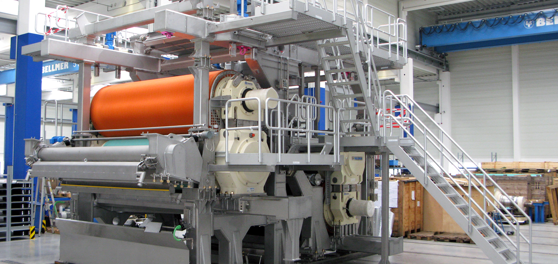Bellmer Paper Shoe Press TurboPress