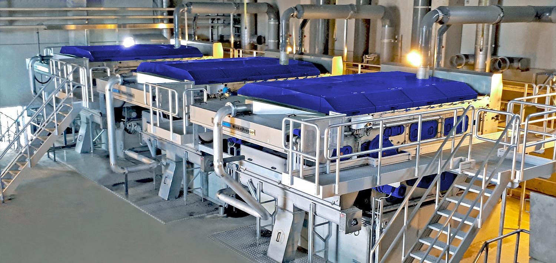 Bellmer Separation Technology Siebbandpresse WinkelPresse