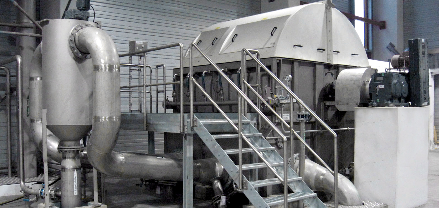 Bellmer Separation Disc Thickener Akse