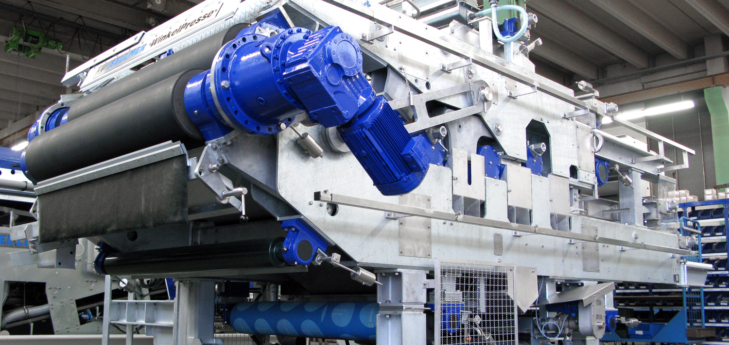 Bellmer Separation Technology high pressure dewatering
