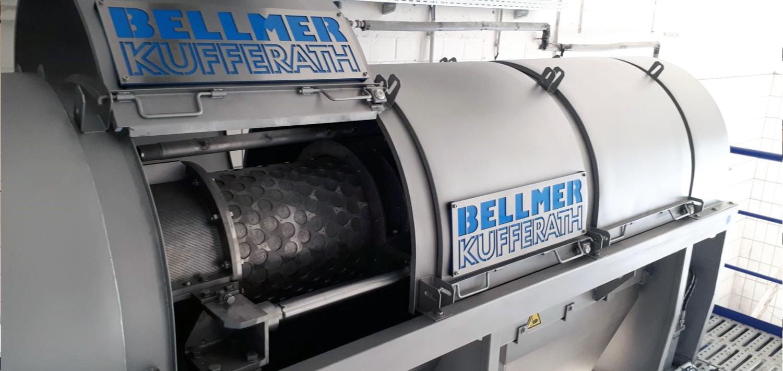 Bellmer Separation Technology Schneckenpresse Akupress BX LL kommunale Schlammentwässerung