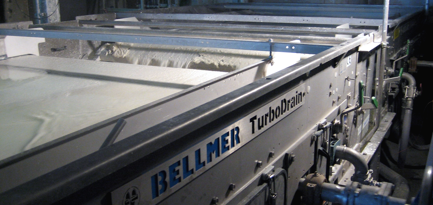Bellmer Separation Technology Water Filtration Turbo Drain