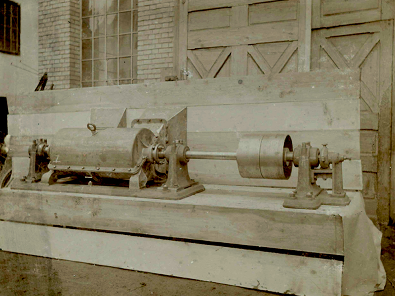 Bellmer screw propeller in 1880