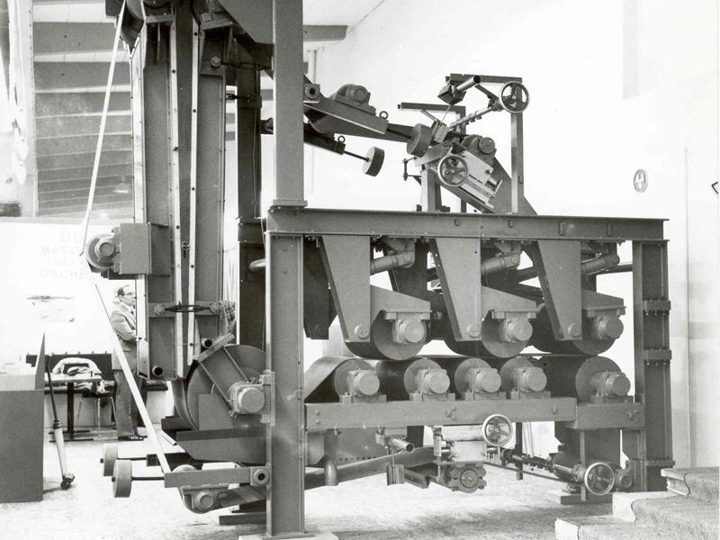 WinklePress for sludge dewatering in 1972