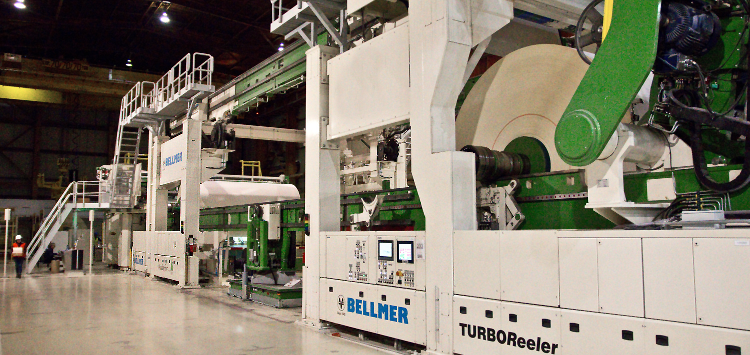 Bellmer Paper Technology Center Reeler