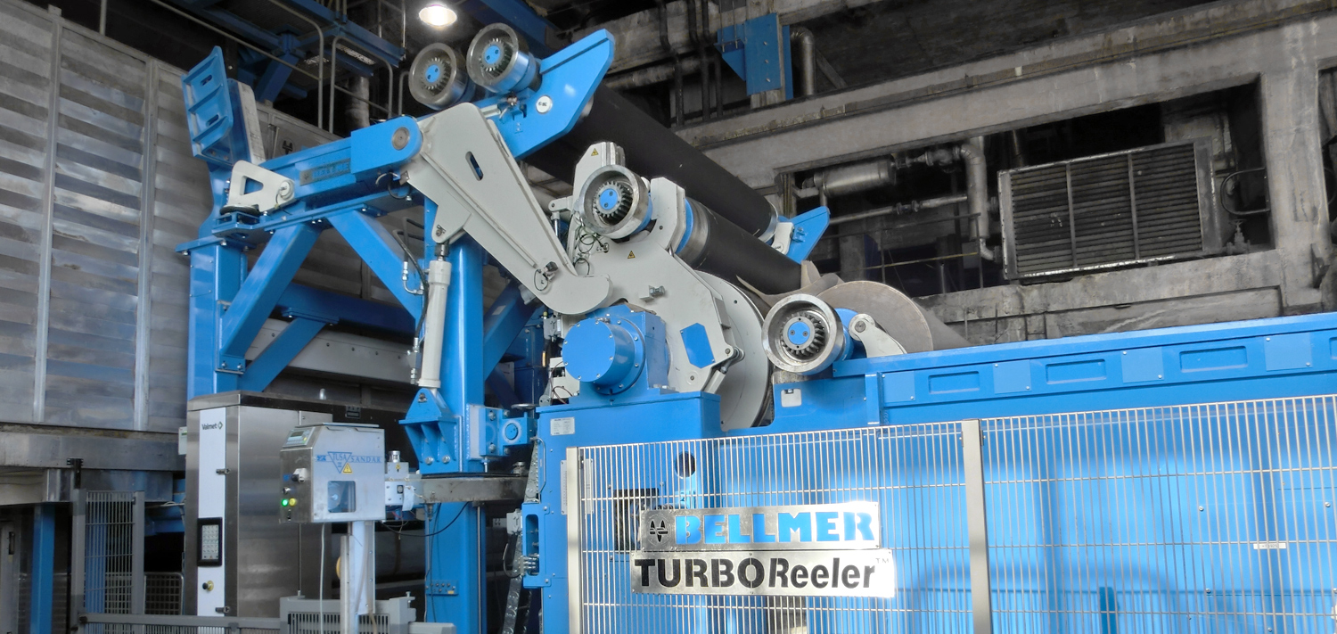 Bellmer Paper Technology Reeler TurboReeler