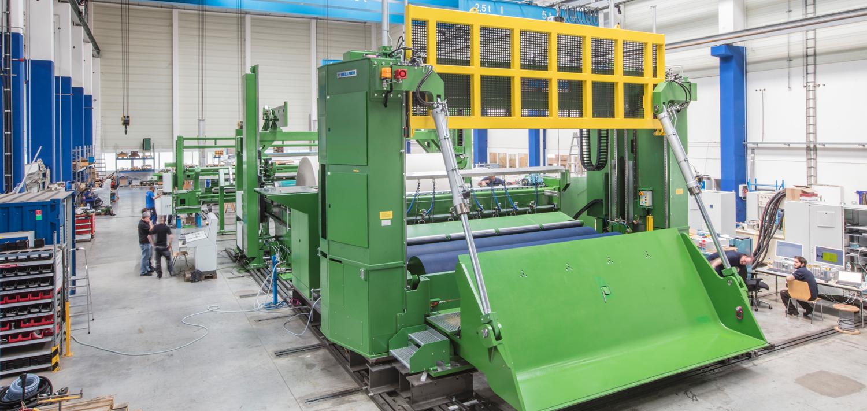 Bellmer Paper Technology Winder
