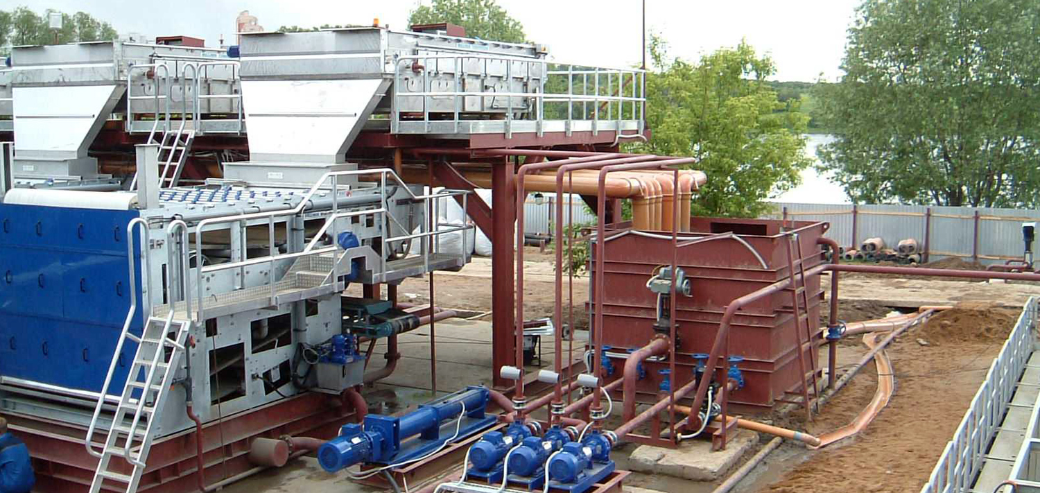 Bellmer Separation Technology Lake and River sludge dewatering