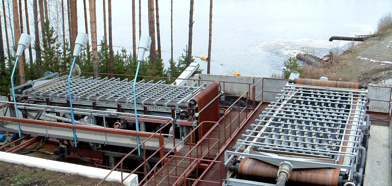 Bellmer Separation Technology Lake and River sludge dewatering
