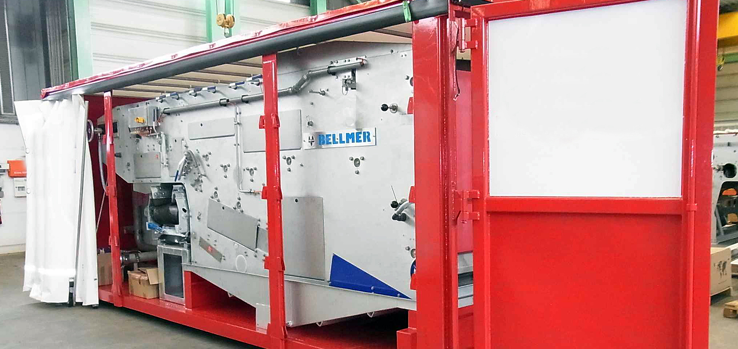 Bellmer Separation Technology Mobile Dewatering