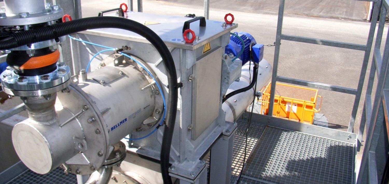 Bellmer Separation Technology Screw Press Akkupress BX LL