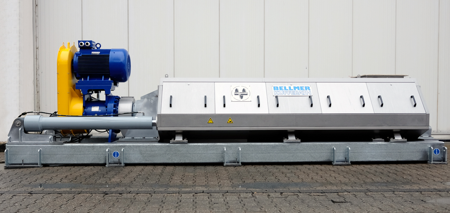Bellmer Separation Technology Screwpress Akupress AX 625
