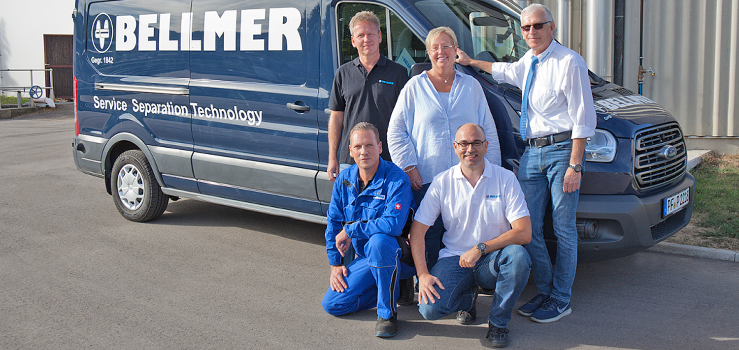 Bellmer Separation Technology Service Maintenance Contracts