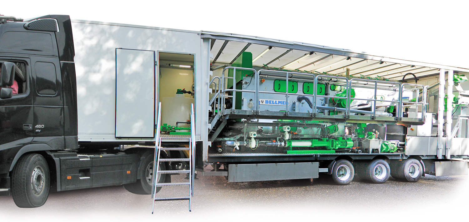 BELLMER Separation Technology Service Mobile Plants