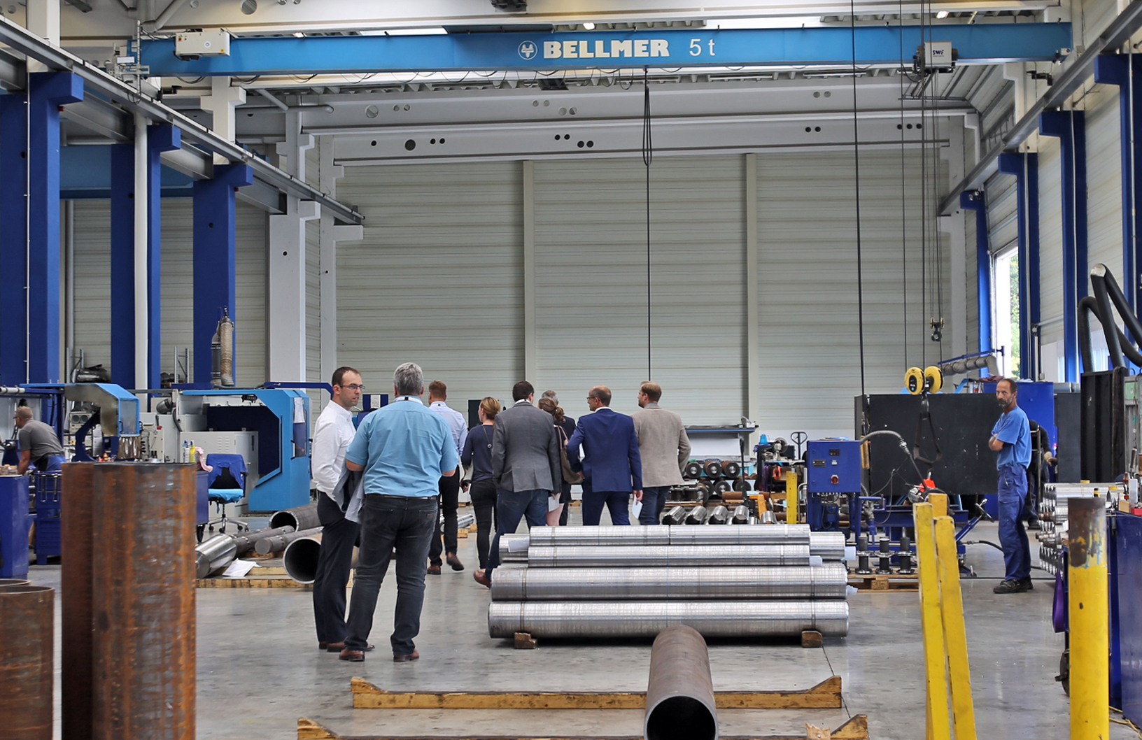 Factory tour of Bellmer in Niefern