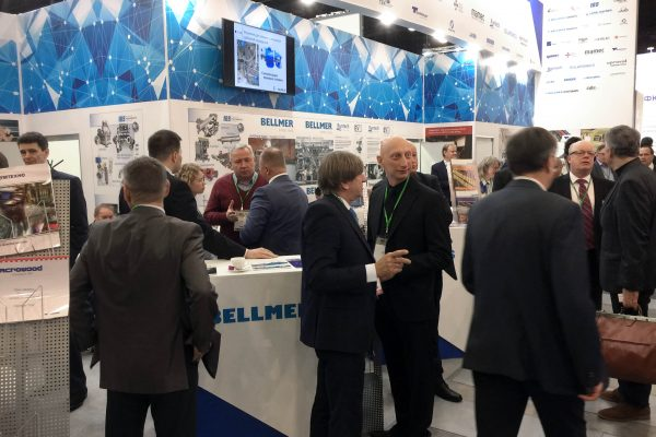 BELLMER booth at PAP-For attracts lot of interest