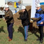 GROUNDBREAKING CEREMONY BELLMER KUFFERATH