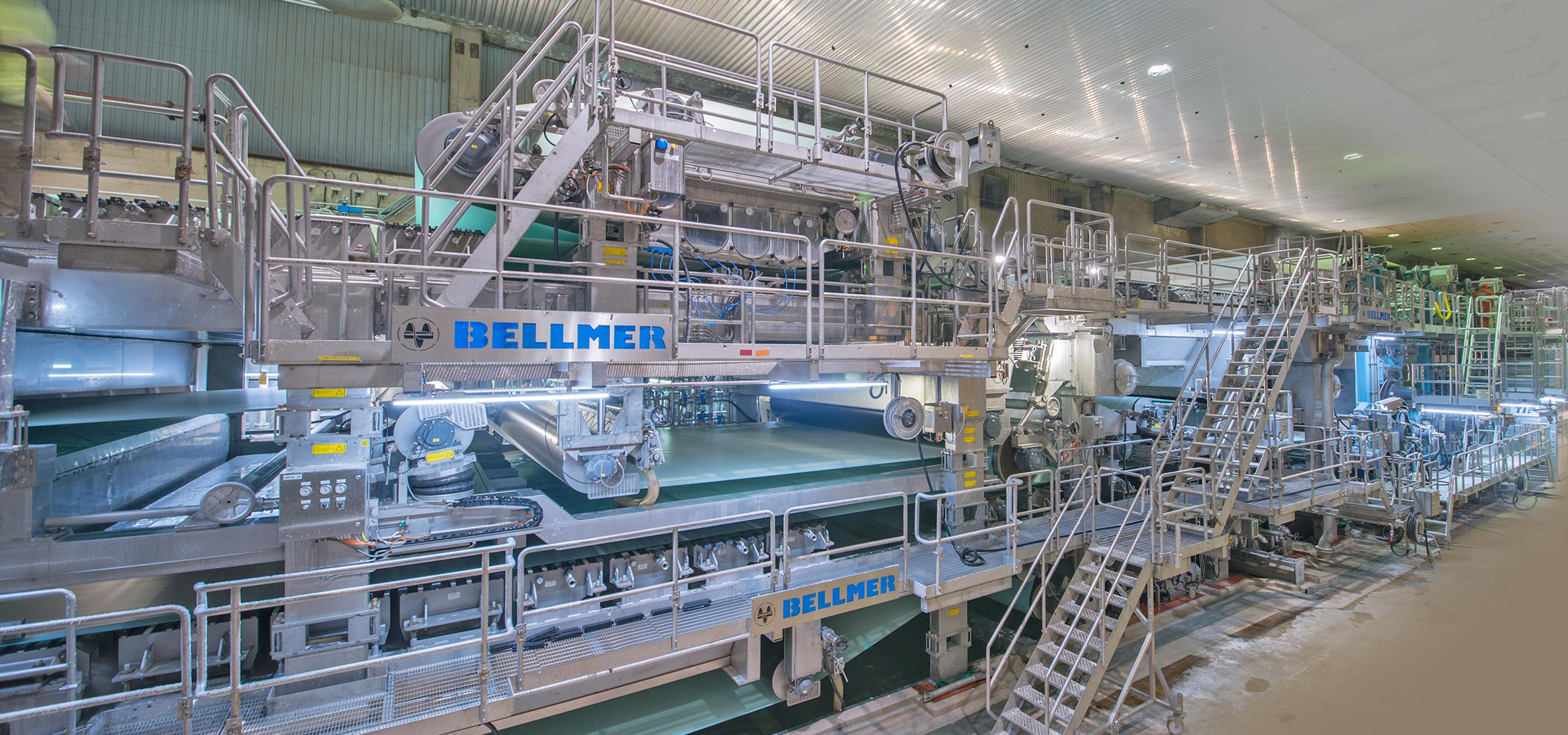 Bellmer Pulp and Paper machines