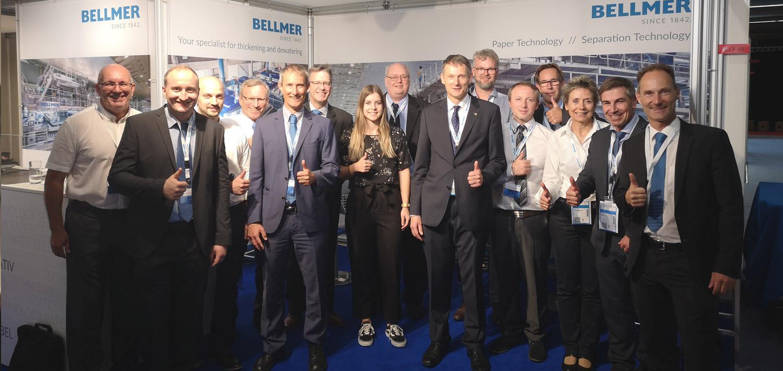 Bellmer Team bei der Zellcheming Expo 2019