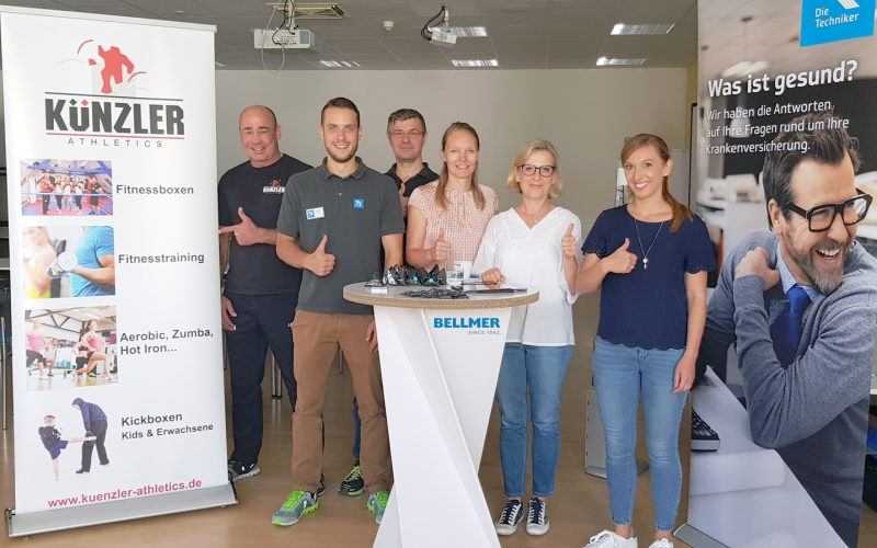 Bellmer health days with cooperation partners