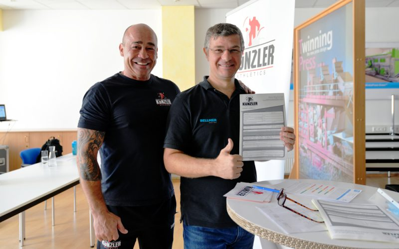 Bellmer health days fitness studio cooperation kuenzler