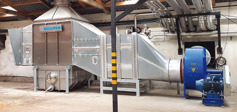 Bellmer Air & Steam hood ventilation systems