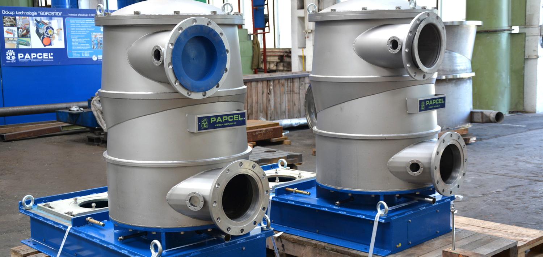 Bellmer TurboScreen before shipment