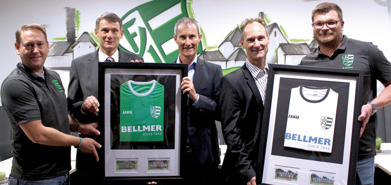 Bellmer sponsoring FV 09 Niefern
