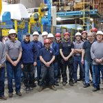 NEW END SECTION FOR GLATFELTER LYDNEY IN OPERATION