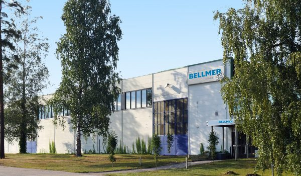 production and office building of Bellmer Finland Oy
