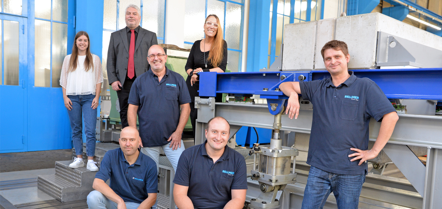 Bellmer Paper Technology Service Team in Niefern