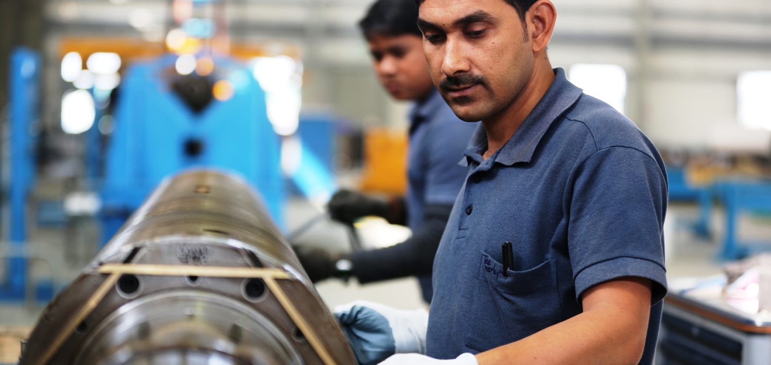 Bellmer India provides Servicing of all functional & non-functional rolls