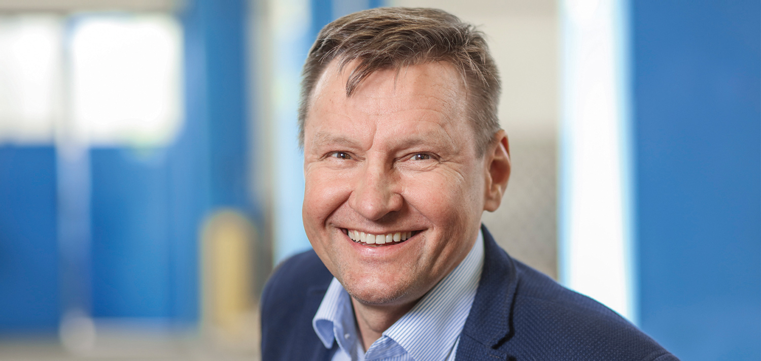 Jyrki Strengell, managing director of Bellmer Finland Oy, welcomes the change of name