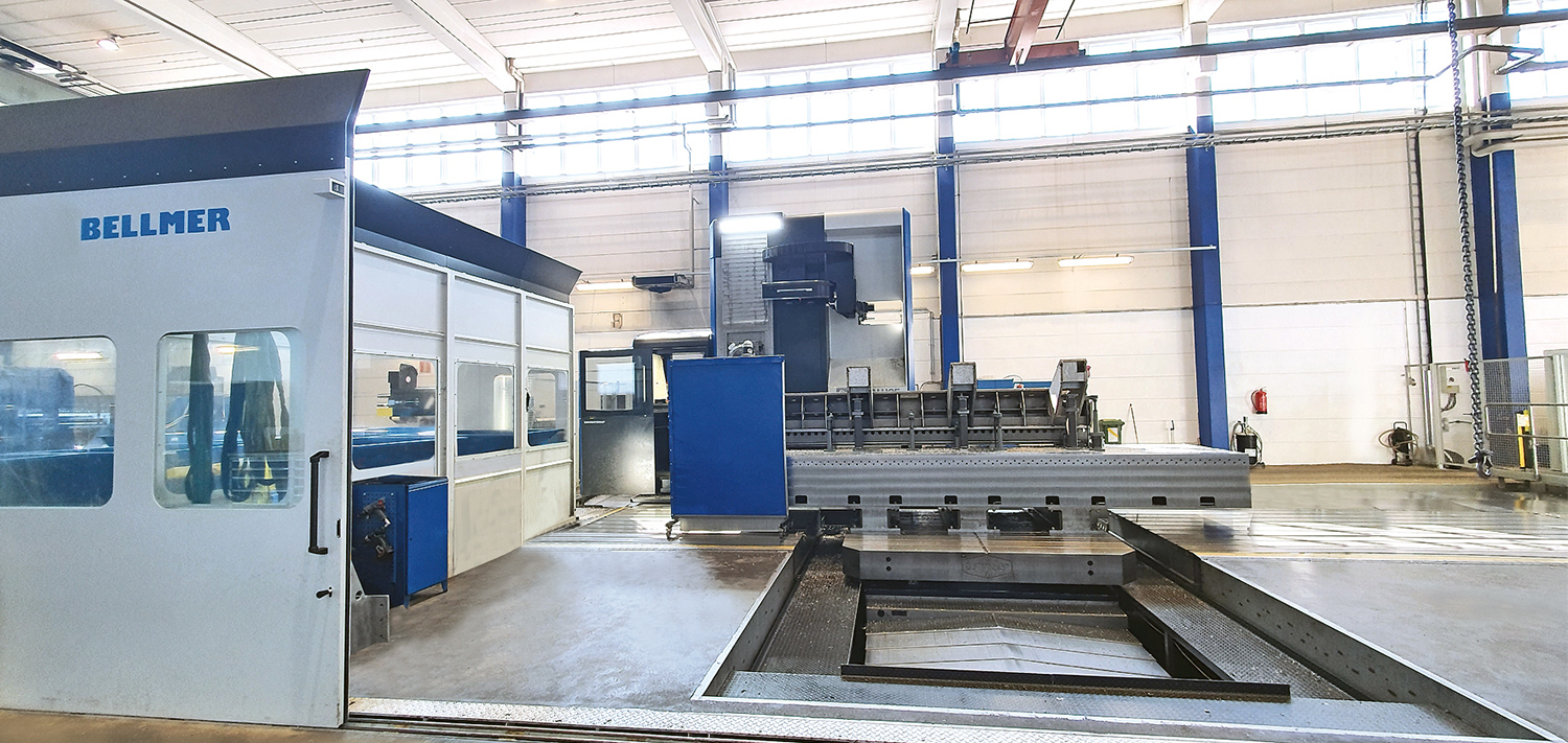 Quality products are manufactured in the modern production facility in Hollola