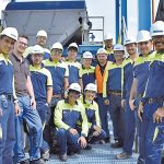 Successful start-up of the sludge dewatering in Colombia