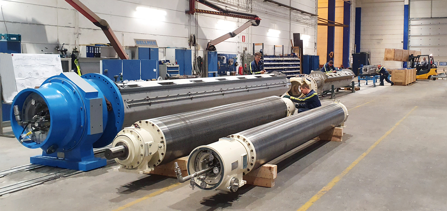 Bellmer Finland Oy suction roll production