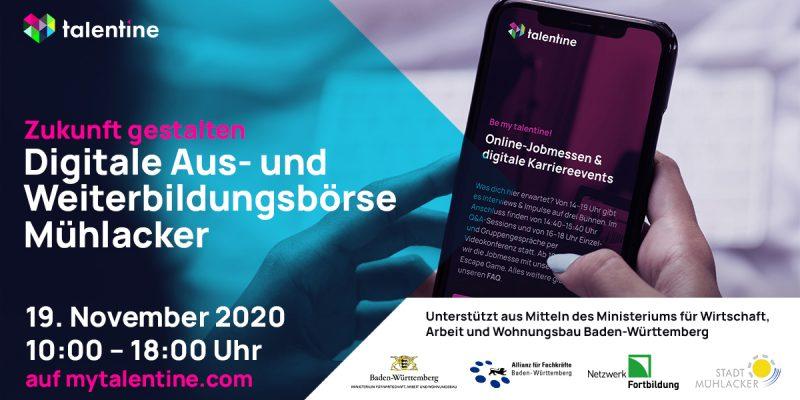 Digitale Ausbildungsmesse Mühlacker 2020