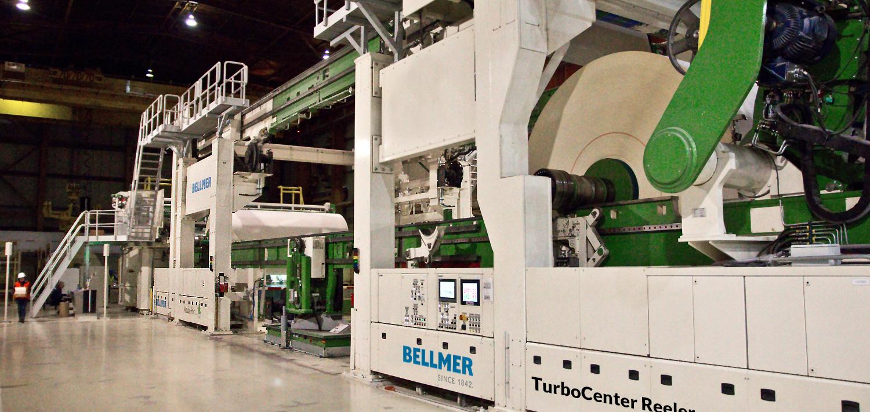 Bellmer Paper Technology Center Reeler