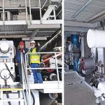 Umbau der PM 8 bei Zhejiang Rongsheng Paper