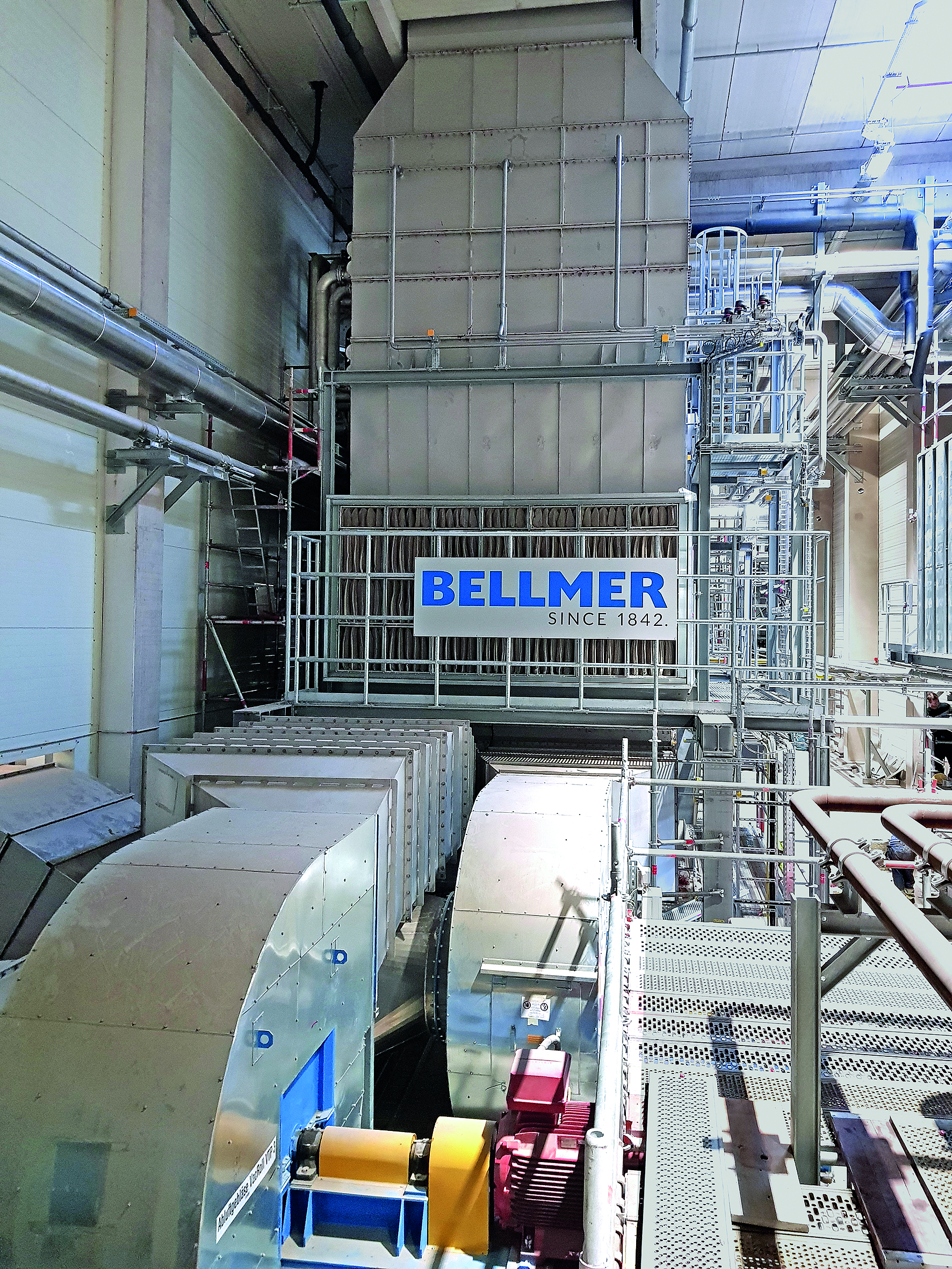 Bellmer heat recovery system