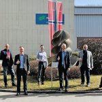 Papiermaschinen Umbauprojekt bei Norske Skog Bruck